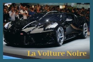 The world's most expensive car: La Voiture Noire